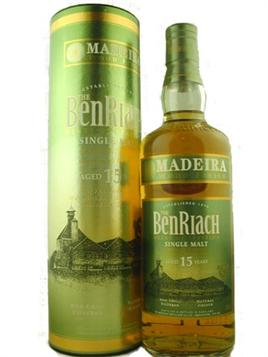 Benriach Scotch Single Malt 15 Year Madeira Wood Finish